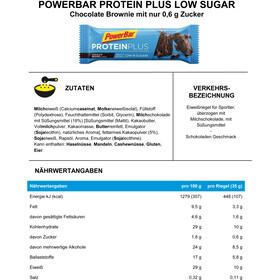 PowerBar ProteinPlus Bar Box 30x35g Chocolate Brownie